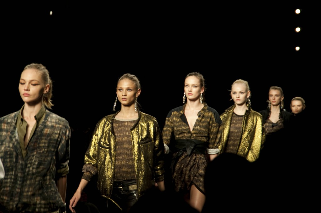 Final Procession, Isabel Marant FW 2010 Collection