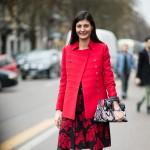Giovanna Battaglia At Diane Von Furstenberg Ss2015